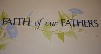 Faith of our Fathers Banner