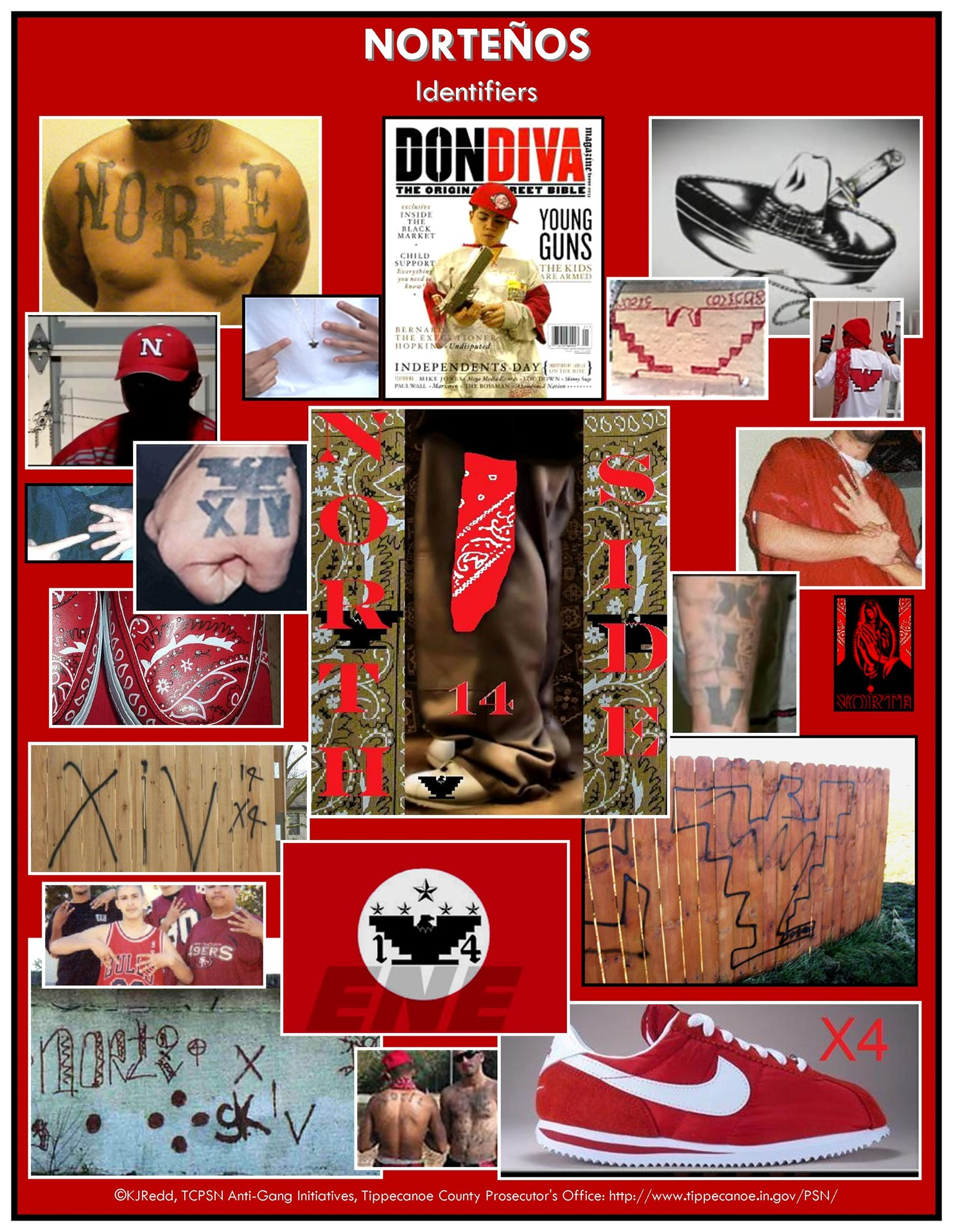 the gallery for gt norteno gang signs and meanings